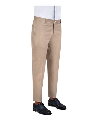TWN Klasik Pantolon Bej